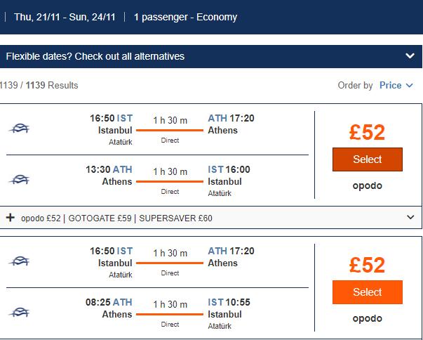 https://www.jetcost.co.uk/flights/results/IST-ATH/2019-11-21/ATH-IST/2019-11-23/0/1-0-0?g-recaptcha-response=03AOLTBLRAwz3tQwM37GSyqHCWcGtBX5Pq8ek9qhgK8sxfRJtI5Pu40MnXLZqVDNR_FS-MXWLwJMa0xI1NaXAh7QZbmAo1qGEzhbewPHKvbssjnyybT-jzzXJt1mPEDpNwOxfJL2SEM5FuSCuBJDV014xOFyCrW7ZacNboqClm9oHp73083H2vnc4C3szI3jVg34Hwns_BvLwamXvOZXUHpJWY6BMN0tfV-DXiaA1NS1vh14c11pO5Oie4sUcPEKOmnZDnZspmDTM4e6U6uW2pc_wCSuqqFdqwLX2B57hMWokQDWML0DIz7OIm1e-GKoXNGxjfnbp3acwU&sid=FUK1_5d18ee94ee848